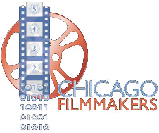 The logo of Chicago Filmmakers